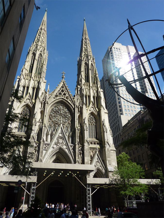 St. Patrick´s Cathedral in New York