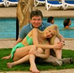 Elischeba und Pierre im Marriott