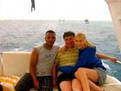 Elischeba und Pierre am Roten Meer