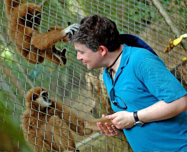 Vorsicht vor Affen