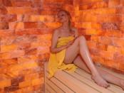 Elischeba in der Sauna