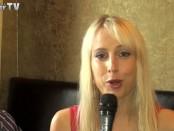 Elischeba beim Interview im Waldhotel Rheinbach