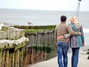 Elischeba und Pierre an der Nordsee