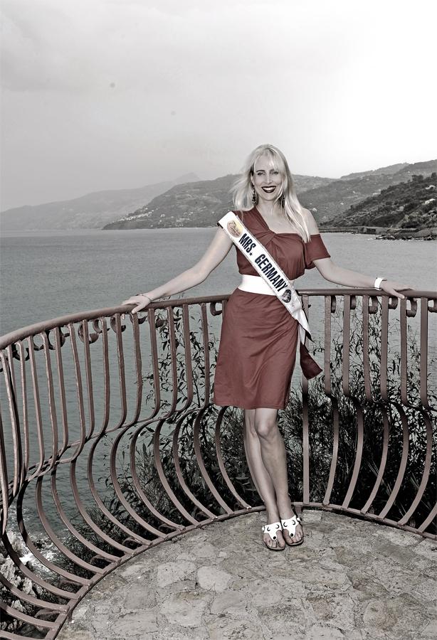 MrsGermany2009 Elischeba Wilde auf Sizilien