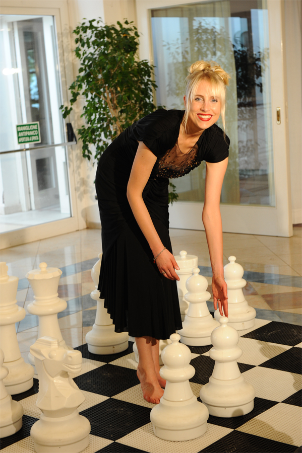 Elischeba am Schachbrett