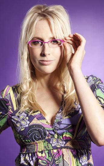 Elischeba mit Brille