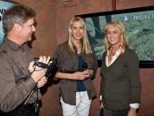 Elischeba interviewt Stefanie Brendel auf der Messe boot 2011