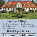 tagen auf Ruegen - Hotel Bohlendorf