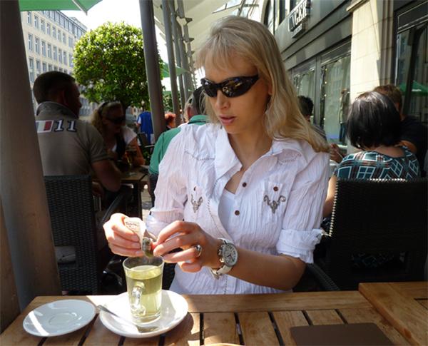 Elicheba im Melange in Hamburg