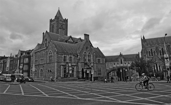 Burg Dublin Rundfahrt