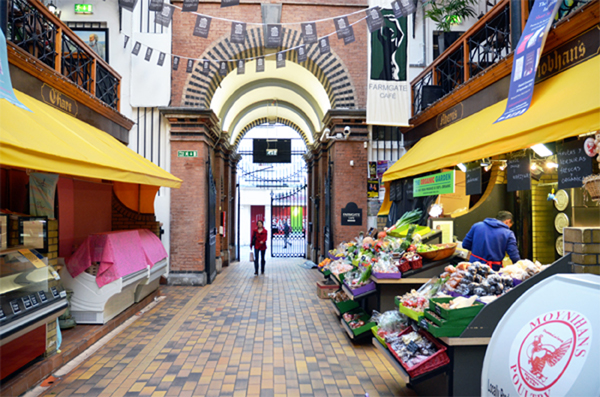 Old English Market in Cork
