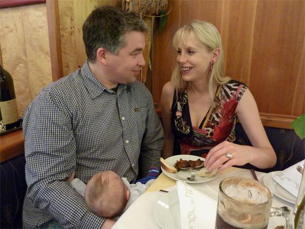 Restaurant mit Baby 2012