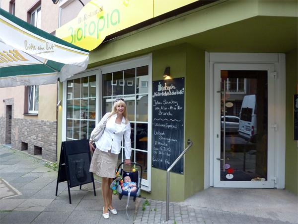 Biorestaurant Biotopia Aussenansicht