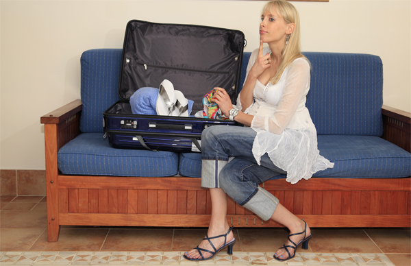 Koffer packen mit Elischeba