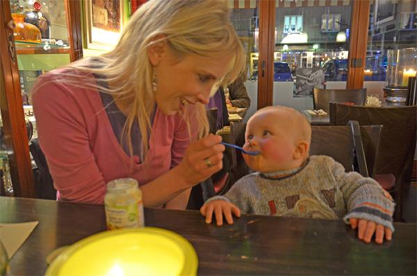 Elischeba im Restaurant Carpe Diem in Bocholt