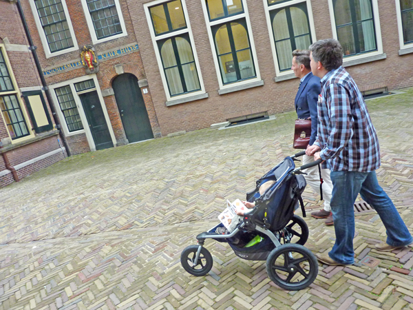 Führung durch Den Haag
