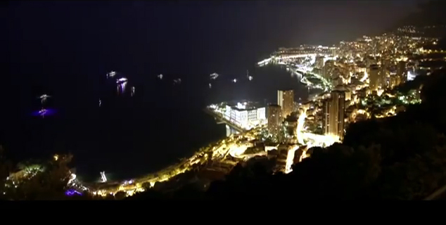 Monaco-bei-Nacht