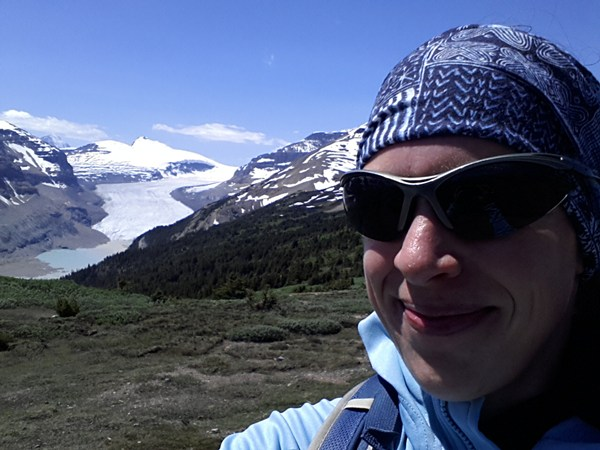 In Kanada am Icefields Parkway
