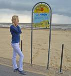 Elischeba am Strand von Cuxhaven