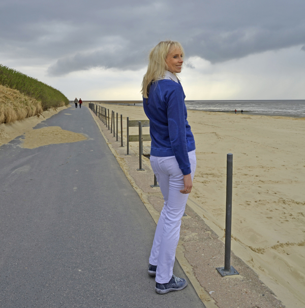 Elischeba in Cuxhaven im Regen