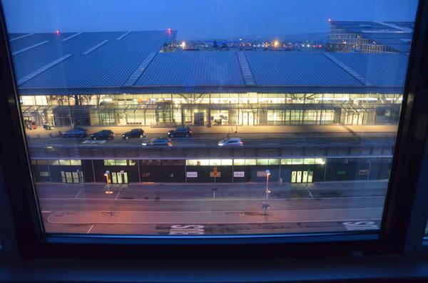 ausblick auf den airport