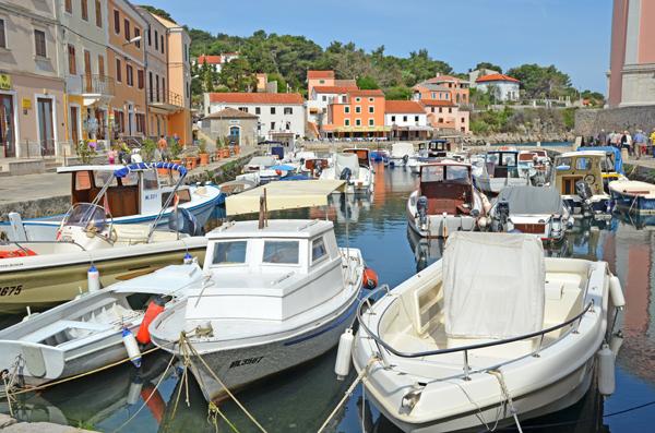 Hafen von Veli Losinj