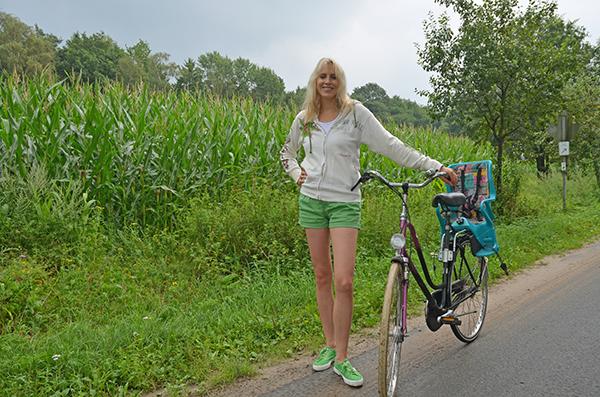 Elischeba mit Rad