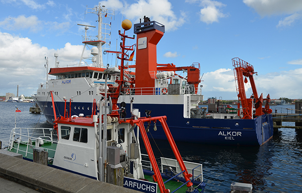 Schiff in Kiel
