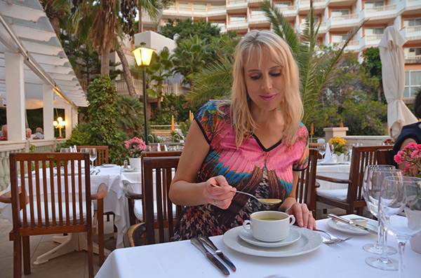 Abendessen Mallorca