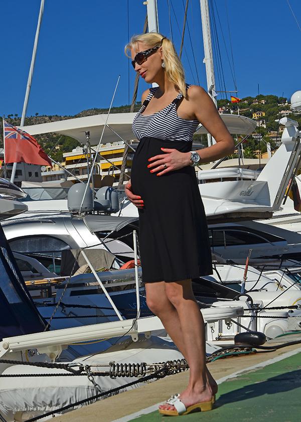 Elischeba schwanger Yacht