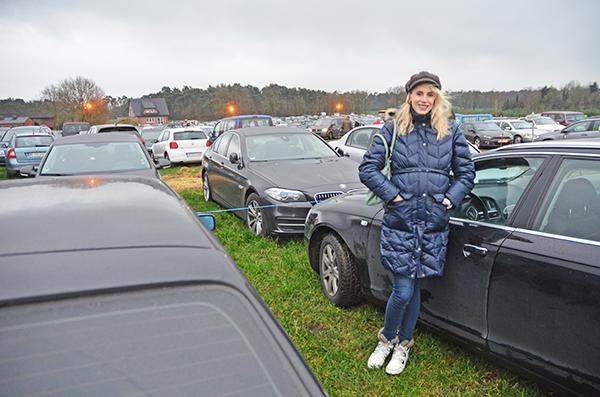 parkplatz in velen