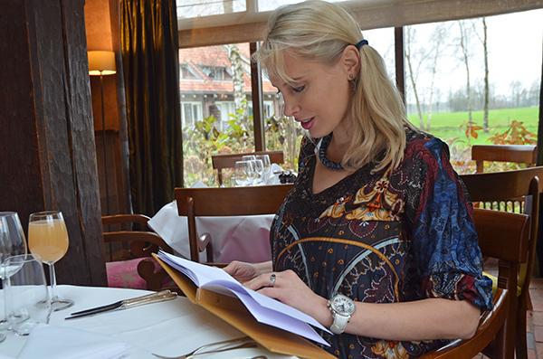 Elischeba im Restaurant Twente
