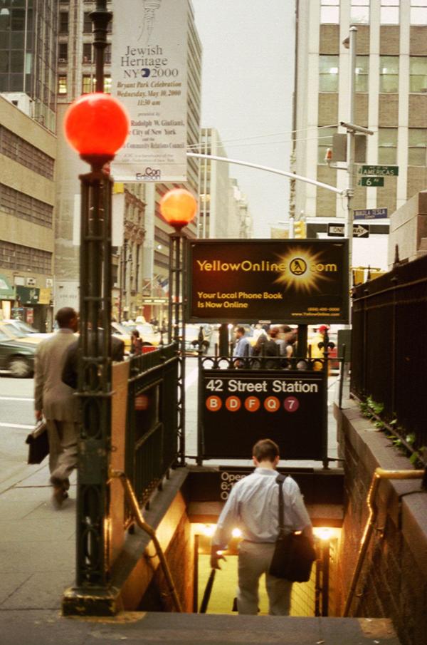 NYC_Y2K Midtown Manhattan 42nd Street