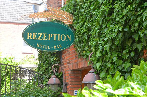 Rezeption Hotel Reichshof Norden