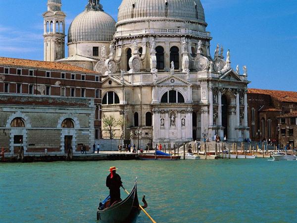 Venedig - Basilica Santa Maria della Salute