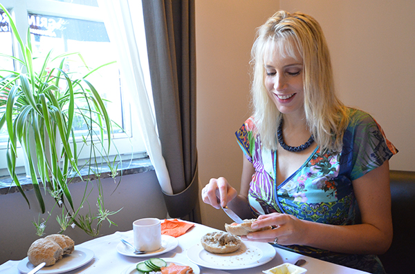 Frühstück in Dilsen