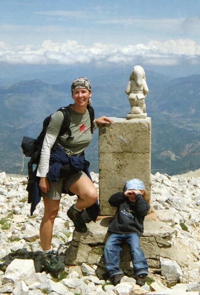 Gipfelfoto_Mount Ventoux_Frankreich_2002
