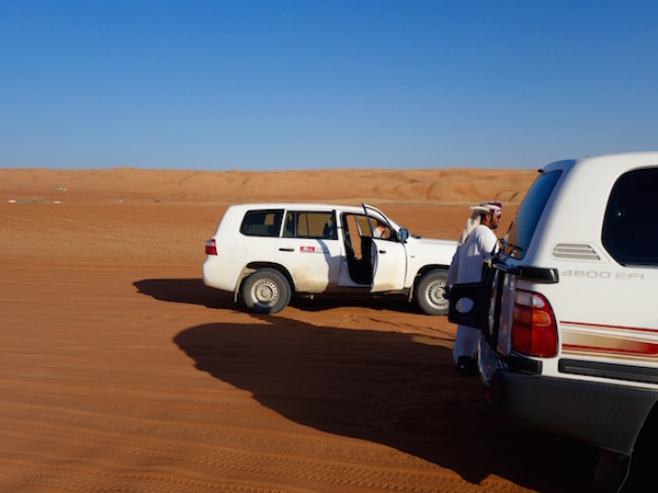 Oman, auf dem Weg in die Wüste