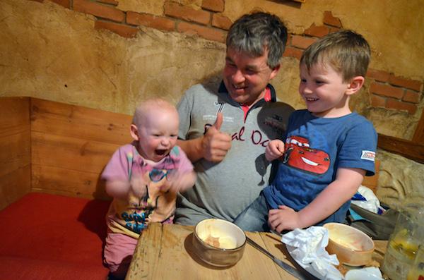 waldhof wilder kaiser restaurant kinder