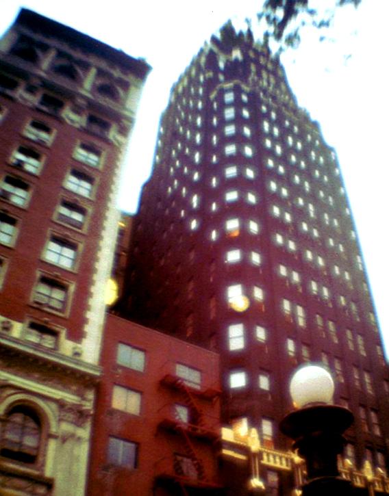 NYC Y2K Skyscraper historisch