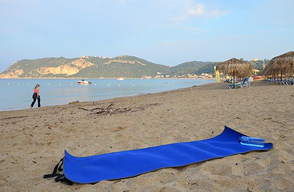 Yogamatte Strand