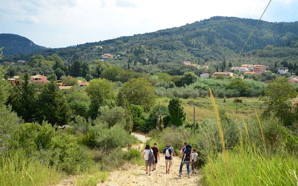 Wanderung auf Korfu