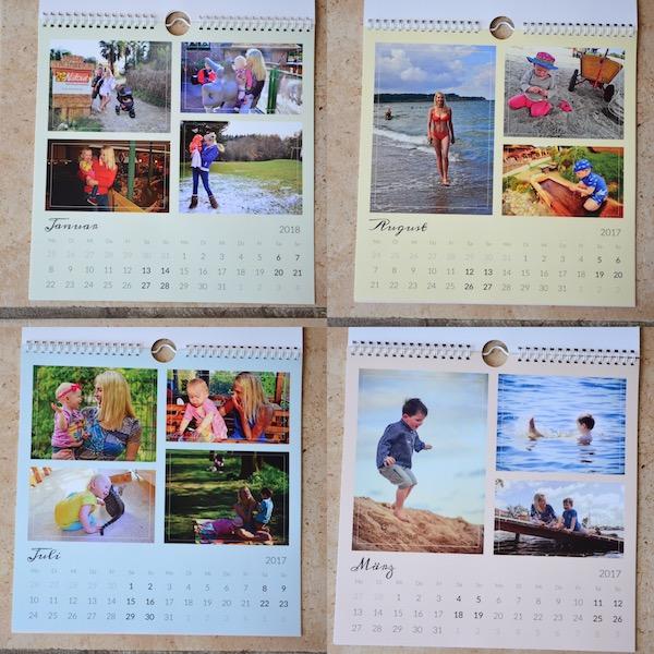 Kalender selber gestalten
