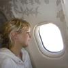 Flugzeugfenster Elischeba Vietnam
