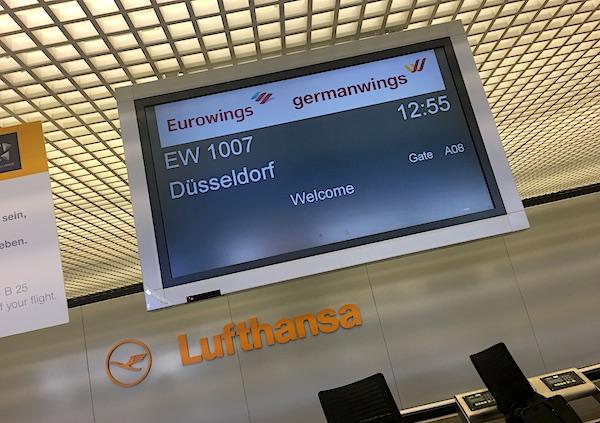 Eurowings germanwings Lufthansa