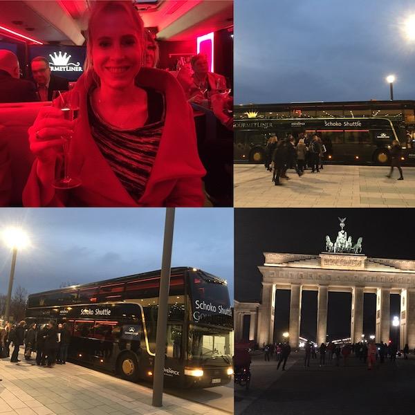 Shuttlebus Schoko ITB 2017