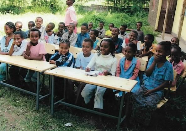 Schule in Äthiopien