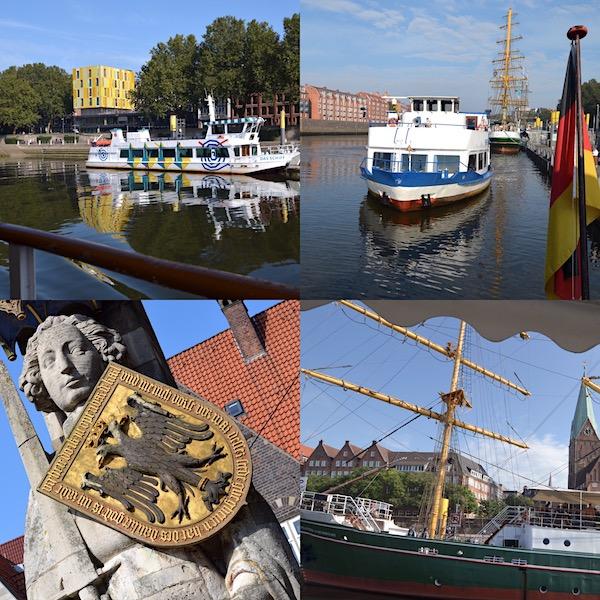 Schlachte in Bremen