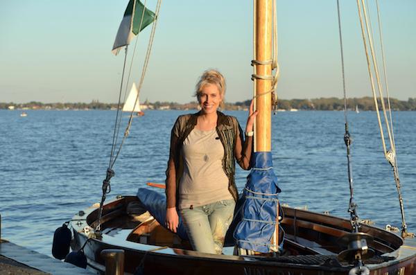 Elischeba Abendsonne Boot