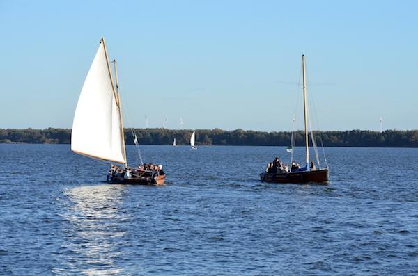 Bootsfahrt am Steinhuder Meer